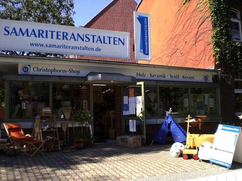 Ladenansicht Christophorus Shop